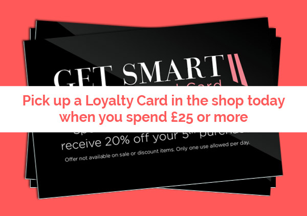 Get Smart ii Loyalty Card