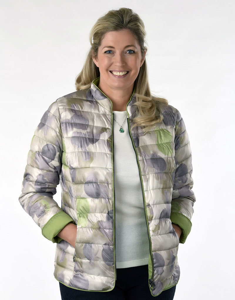 LEBEK REVERSIBLE SYNTHETIC DOWN JACKET