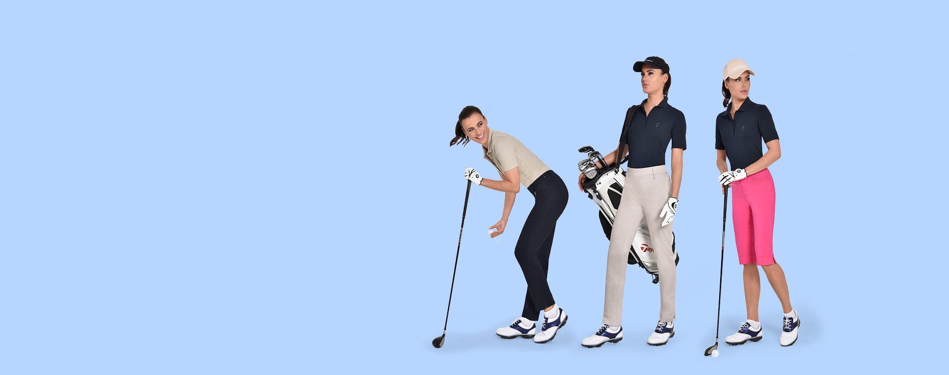 TROUSERS FOR THE LADY GOLFER